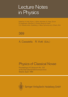 Kartonierter Einband Physics of Classical Novae von