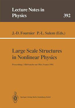 Kartonierter Einband Large Scale Structures in Nonlinear Physics von