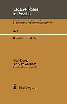 Kartonierter Einband High-Energy Ion-Atom Collisions von