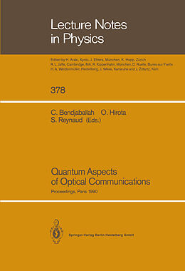 Kartonierter Einband Quantum Aspects of Optical Communications von