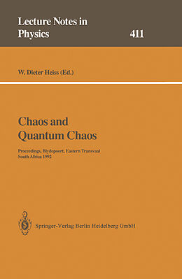 Kartonierter Einband Chaos and Quantum Chaos von