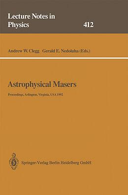 Kartonierter Einband Astrophysical Masers von