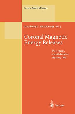Kartonierter Einband Coronal Magnetic Energy Releases von
