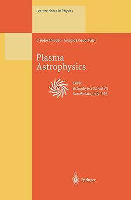 Kartonierter Einband Plasma Astrophysics von