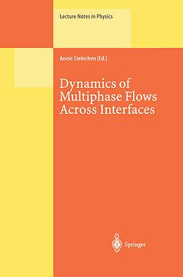 Kartonierter Einband Dynamics of Multiphase Flows Across Interfaces von