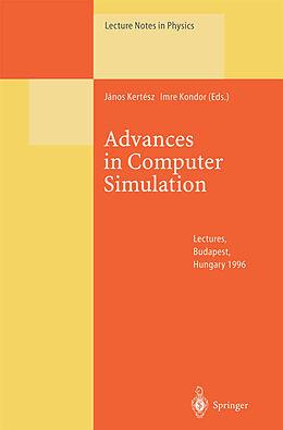 Kartonierter Einband Advances in Computer Simulation von