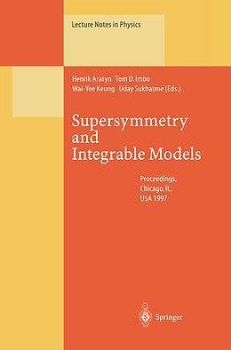 Kartonierter Einband Supersymmetry and Integrable Models von