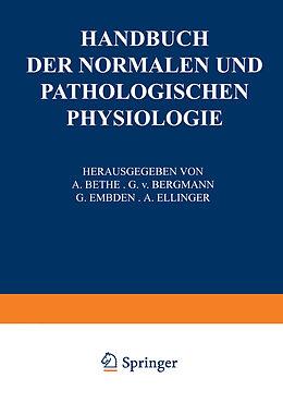 Kartonierter Einband Receptionsorgane 1. Tangoreceptoren, Thermoreceptoren, Chemoreceptoren, Phonoreceptoren, Statoreceptoren von W. v. Buddenbrock, M. H. Fischer, M. v. Frey