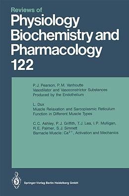 Kartonierter Einband Reviews of Physiology, Biochemistry and Pharmacology von M. P. Blaustein, H. Grunicke, E. Habermann