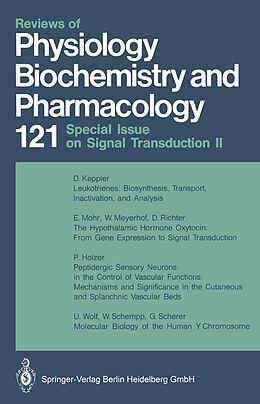 Kartonierter Einband Reviews of Physiology Biochemistry and Pharmacology von M. P. Blaustein, H. Grunicke, E. Habermann