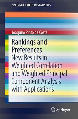 Kartonierter Einband Rankings and Preferences von Joaquim Pinto da Costa