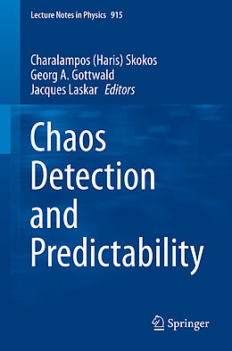 Kartonierter Einband Chaos Detection and Predictability von