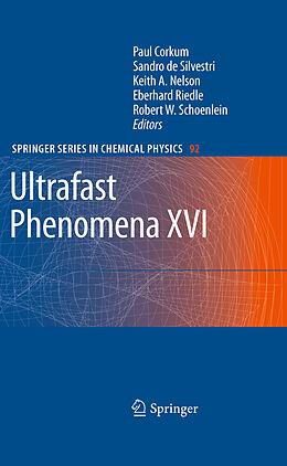 Kartonierter Einband Ultrafast Phenomena XVI von