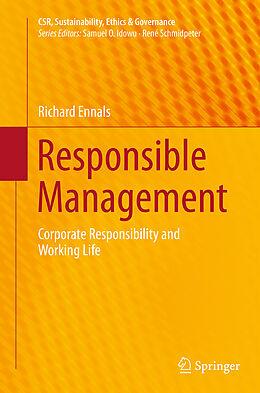 Kartonierter Einband Responsible Management von Richard Ennals