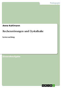E-Book (pdf) Rechenstörungen und Dyskalkulie von Anna Kuhlmann