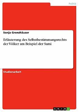 E-Book (pdf) Erläuterung des Selbstbestimmungsrechts der Völker am Beispiel der Sami von Sonja Grenzhäuser