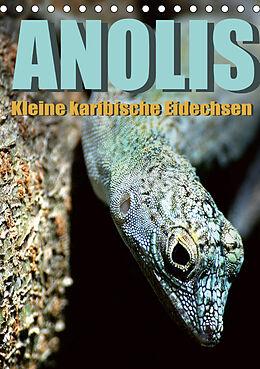 Kalender Anolis - Kleine karibische Eidechsen (Tischkalender 2021 DIN A5 hoch) von Jürgen Warschun