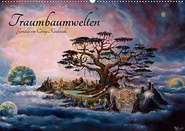 Kalender Traumbaumwelten - Gemälde von Conny Krakowski (Wandkalender 2021 DIN A2 quer) von Conny Krakowski