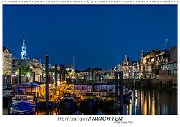 Kalender Hamburger Ansichten (Wandkalender 2021 DIN A2 quer) von Jürgen Muß