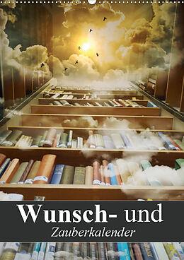 Kalender Wunsch- und Zauberkalender (Wandkalender 2021 DIN A2 hoch) von Elisabeth Stanzer