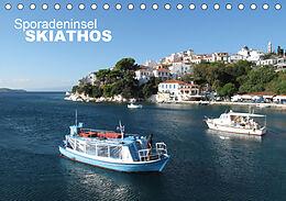 Kalender Sporadeninsel Skiathos (Tischkalender 2021 DIN A5 quer) von Nicolas Pabst