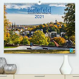 Kalender Bielefeld - Die freundliche Stadt am Teutoburger Wald (Premium, hochwertiger DIN A2 Wandkalender 2021, Kunstdruck in Hochglanz) von Wolf Kloss