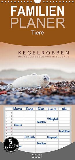 Kalender Kegelrobben - Die Kegelrobben von Helgoland - Familienplaner hoch (Wandkalender 2021 , 21 cm x 45 cm, hoch) von Lain Jackson