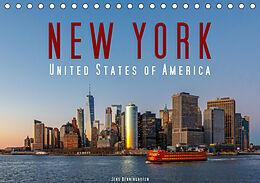 Kalender New York - United States of America (Tischkalender 2021 DIN A5 quer) von Jens Benninghofen