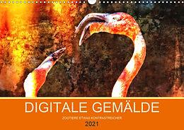 Kalender DIGITALE GEMÄLDE (Wandkalender 2021 DIN A3 quer) von Carl-Peter Herbolzheimer