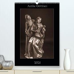 Kalender Antike Göttinnen (Premium, hochwertiger DIN A2 Wandkalender 2021, Kunstdruck in Hochglanz) von Klaus Faltin