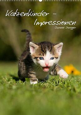 Kalender (Kal) Katzenkinder - Impressionen (Premium, hochwertiger DIN A2 Wandkalender 2022, Kunstdruck in Hochglanz) von Susanne Danegger
