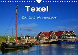 Kalender Texel  Eine Insel die verzaubert (Wandkalender 2022 DIN A4 quer) von Elke Krone