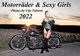 Kalender Motorräder & Sexy Girls (Wandkalender 2022 DIN A4 quer) von Udo Talmon