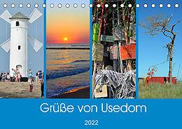Kalender (Kal) Grüße von Usedom (Tischkalender 2022 DIN A5 quer) von Sarnade