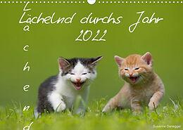 Kalender (Kal) Lächelnd durchs Jahr 2022 (Wandkalender 2022 DIN A3 quer) von Susanne Danegger