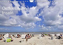 Kalender (Kal) Ostfriesische Inseln (Wandkalender 2022 DIN A4 quer) von McPHOTO / W. Boyungs / K. Steinkamp