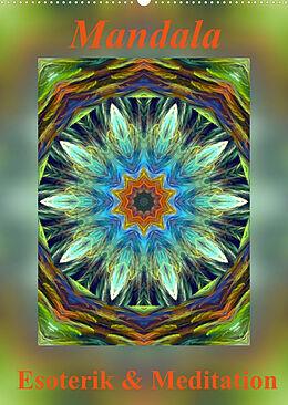 Kalender (Kal) Mandala - Esoterik & Meditation (Wandkalender 2022 DIN A2 hoch) von Art-Motiva