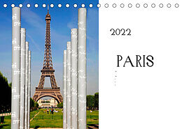 Kalender (Kal) Paris (Tischkalender 2022 DIN A5 quer) von Stephan Gabriel