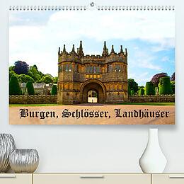 Kalender (Kal) Burgen, Schlösser, Landhäuser (Premium, hochwertiger DIN A2 Wandkalender 2022, Kunstdruck in Hochglanz) von Gabriela Wernicke-Marfo