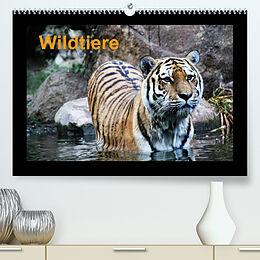 Kalender (Kal) Wildtiere (Premium, hochwertiger DIN A2 Wandkalender 2022, Kunstdruck in Hochglanz) von www.cknof.de, Claudia Knof