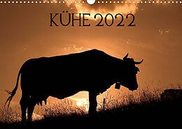 Kalender (Kal) Kühe 2022 (Wandkalender 2022 DIN A3 quer) von Jorge Ruiz del Olmo
