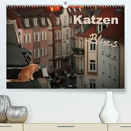 Kalender Katzen Blues (Premium, hochwertiger DIN A2 Wandkalender 2022, Kunstdruck in Hochglanz) von Viktor Gross