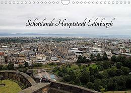 Kalender (Kal) Schottlands Hauptstadt Edinburgh (Wandkalender 2022 DIN A4 quer) von Jörg Sabel
