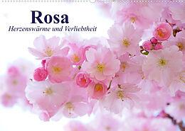 Kalender Rosa. Herzenswärme und Verliebtheit (Wandkalender 2022 DIN A2 quer) von Elisabeth Stanzer