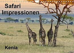 Kalender (Kal) Safari Impressionen / Kenia (Wandkalender 2022 DIN A4 quer) von Susan Michel / CH