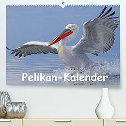 Kalender Pelikan-Kalender (Premium, hochwertiger DIN A2 Wandkalender 2022, Kunstdruck in Hochglanz) von Gerald Wolf