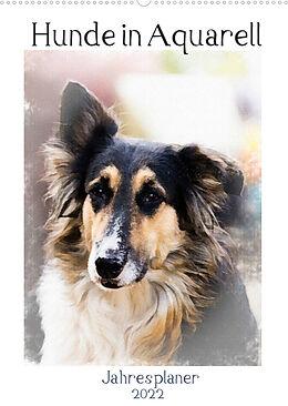 Kalender Hunde in Aquarell - Jahresplaner (Wandkalender 2022 DIN A2 hoch) von Sonja Teßen