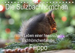 Kalender Die Sulzbachhörnchen - vom Leben einer hessischen Eichhörnchenfamilie (Tischkalender 2022 DIN A5 quer) von Heike Adam