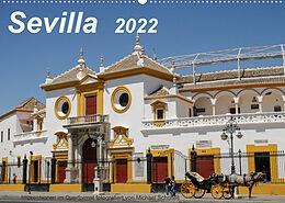 Kalender Sevilla Impressionen im Querformat 2022CH-Version (Wandkalender 2022 DIN A2 quer) von Michael Schultes
