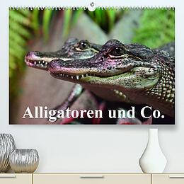 Kalender Alligatoren und Co. (Premium, hochwertiger DIN A2 Wandkalender 2022, Kunstdruck in Hochglanz) von Elisabeth Stanzer
